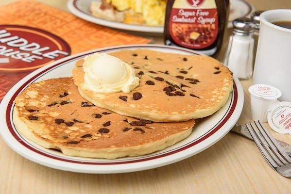 Chocolate Chip Fix Pancakes