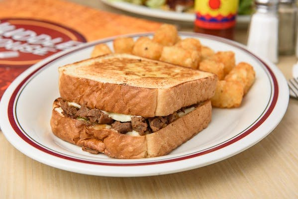Famous Philly Cheesesteak Sandwich