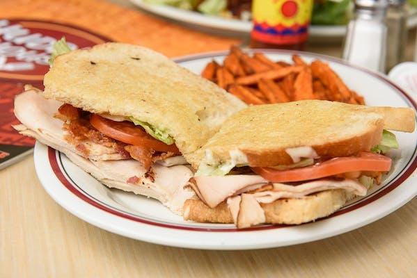 Roasted Turkey Bacon Ranch Sandwich