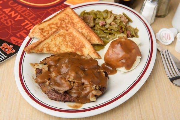 Chopped Steak Platter