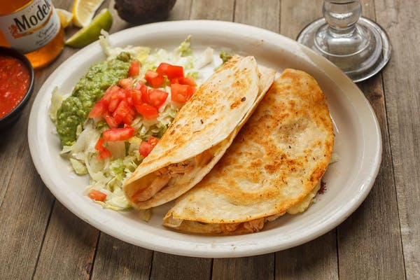 22. Two Chicken or Beef Quesadilla