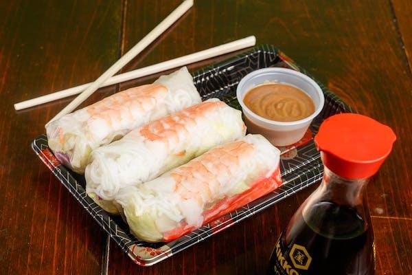 A6. Shrimp Spring Roll