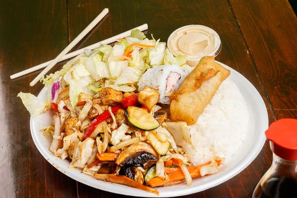 TD5. Teriyaki Vegetarian & Tofu