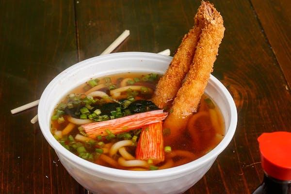 U4. Shrimp Tempura Udon