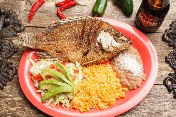 Fried Mojarra