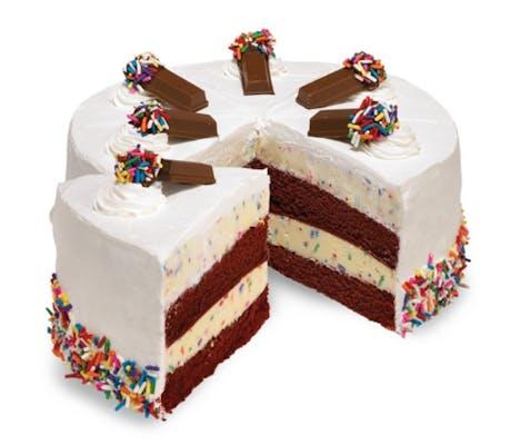 Cake Batter Confetti Cake