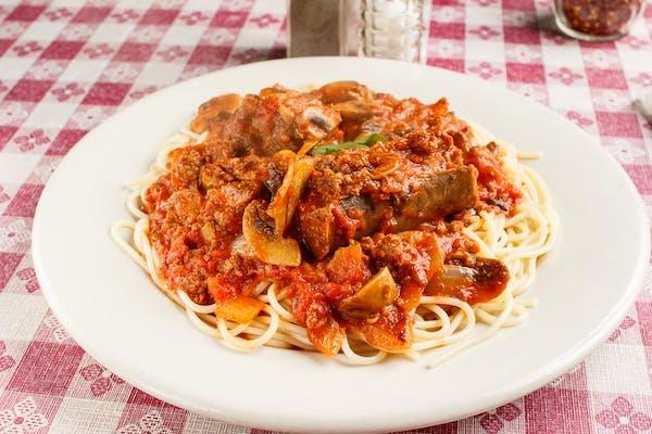 Spaghetti alla Rosario