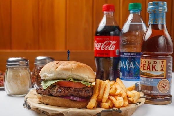Burger & Fries Coca-Cola Combo