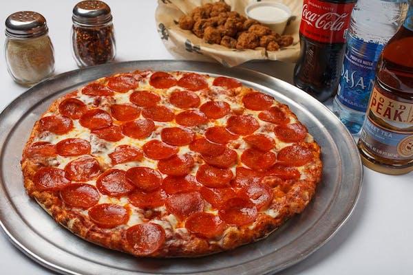 """(14"""") Pizza & App Family Coca-Cola Combo"""