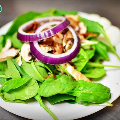 Side Spinach Salad