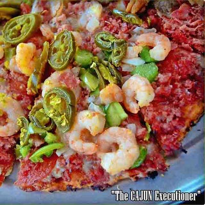Cajun Executioner Pizza