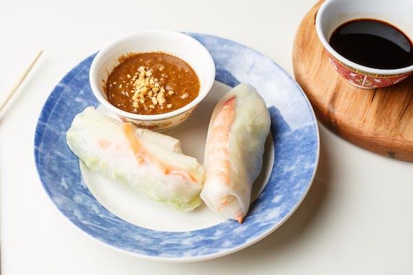 Veggie Vietnamese Spring Rolls