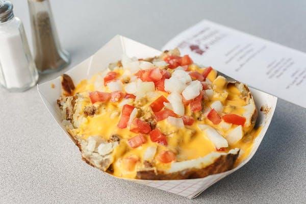Cheese N Burger Potato