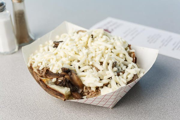 Philly Cheesesteak Potato
