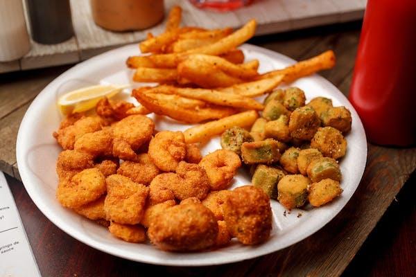 Popcorn Shrimp Dinner