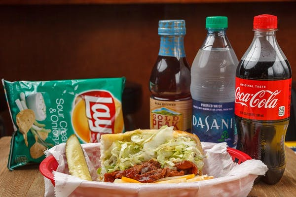 Bar-B-Q Po-Boy Coca-Cola Combo