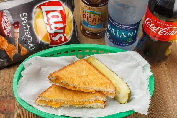 Grilled Cheese Coca-Cola Combo