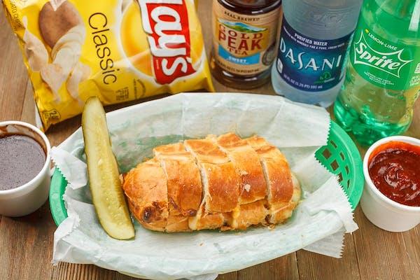Cheese Bread Coca-Cola Combo