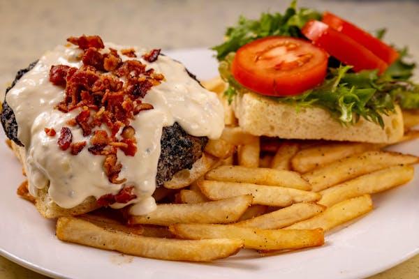 Bacon & Bleu Cheese Burger