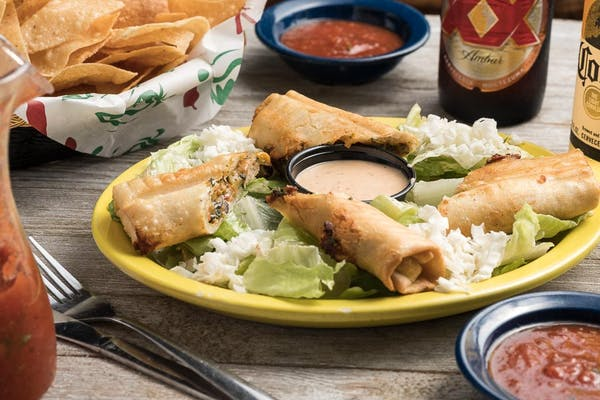 (2) Santa Fe Chicken Egg Rolls