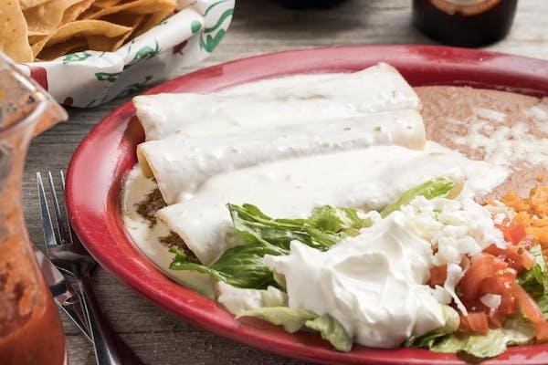 Enchiladas A la Crema