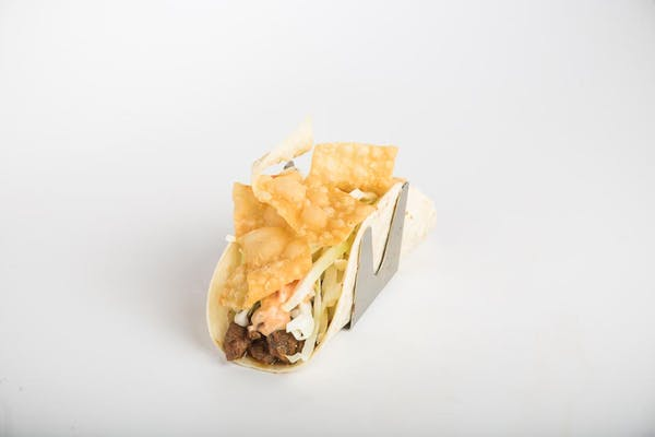 Korean BBQ Steak Taco