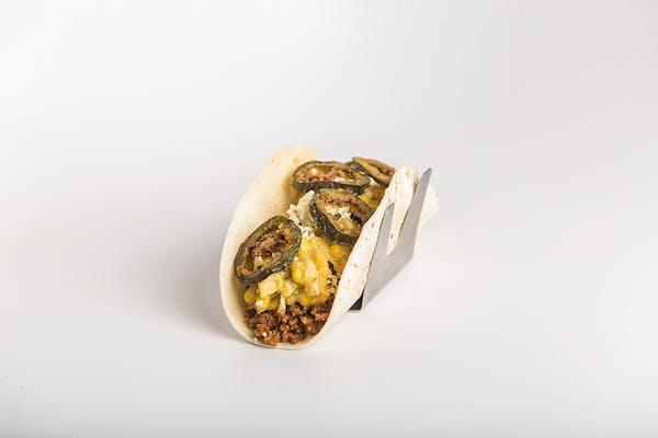 Spicy Chorizo Taco
