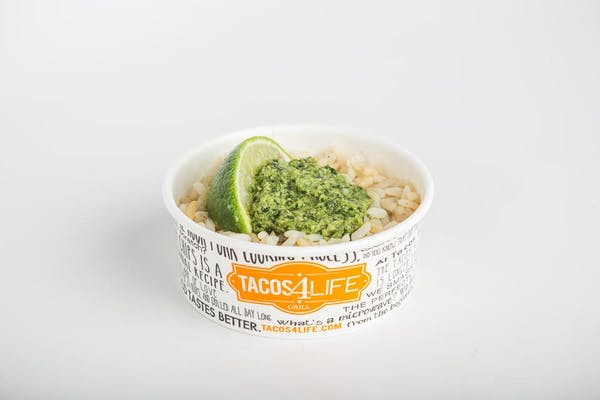 Cilantro Pesto Rice