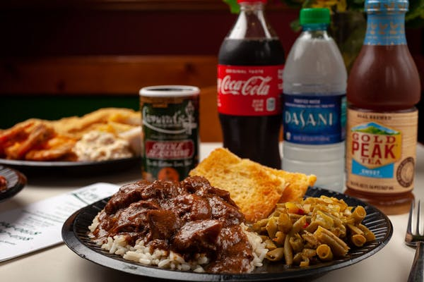 Smothered Steak Dinner Coca-Cola Combo