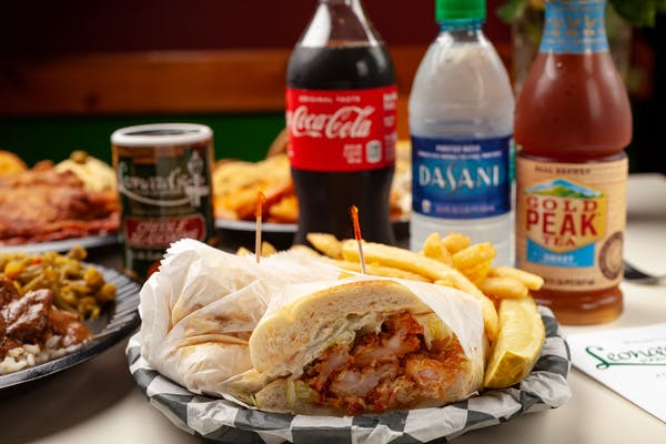 Shrimp & Crab Po-Boy Coca-Cola Combo