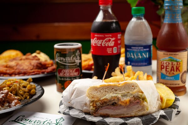 Big Easy Po-Boy Coca-Cola Combo