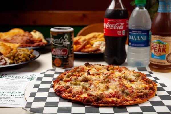 Leonard's Special Pizza Coca-Cola Combo
