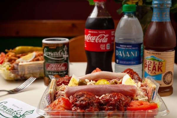 Quarters' Special Salad Coca-Cola Combo