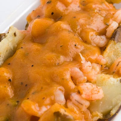 Shrimp Étouffée Baked Potato