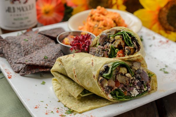 Greek Veggie Wrap