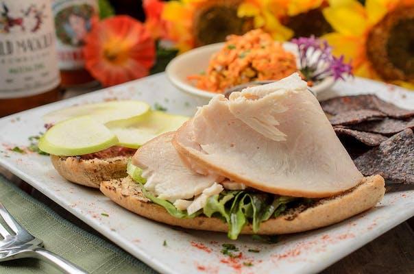 Cranberry-Apple Turkey Sandwich