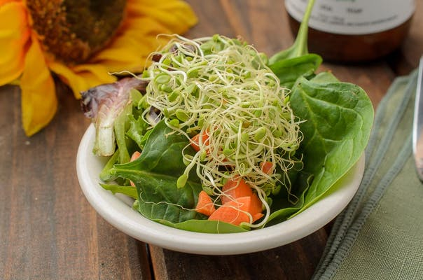 Side Salad & Daily Dressing