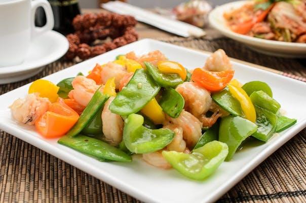 SF13. Shrimp with Snow Peas
