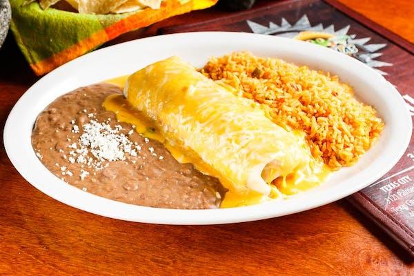 Lunch Burrito con Queso