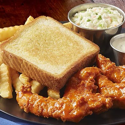 Buffalo Chicken Finger Plate