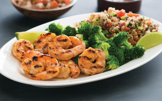 Shrimp Power Plate