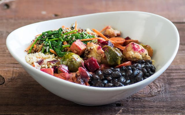 Organic Roasted Vegetable Bowl