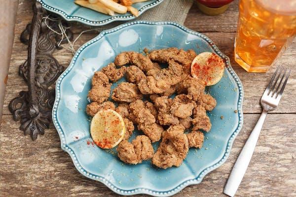 Lemon Pepper Chicken Gizzards