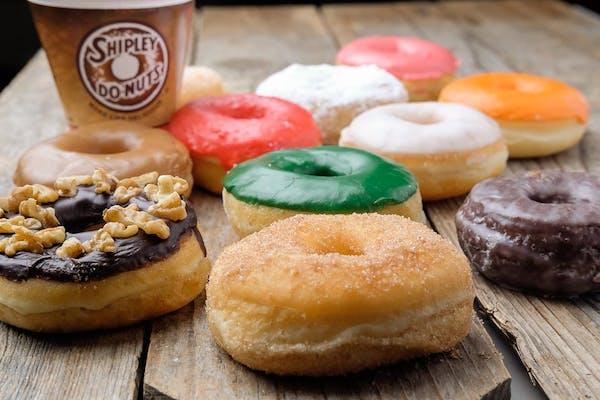 Dozen Iced Donuts