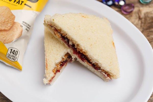Kid's PB & J Sandwich