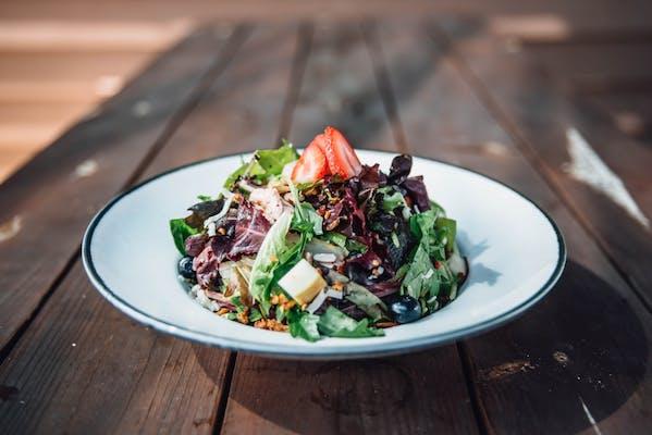Chicken Berry Pecan Salad