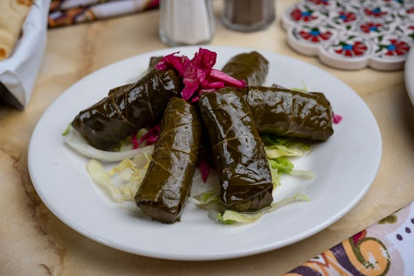 1. Sarma (Stuffed Grape Leaves)