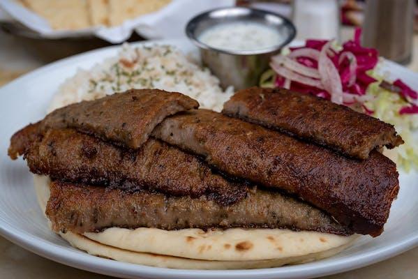 16. Gyro Kebab Platter