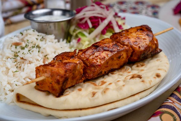 20. Chicken Shish Kebab Platter