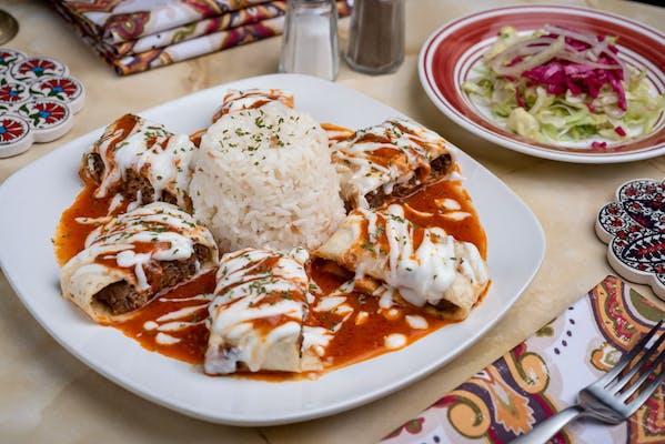 24. Beyti Kebab Platter